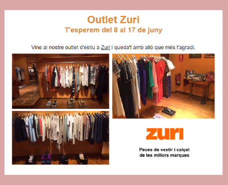 outlet zuri