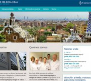 New website for the ENT center Roca-Ribas